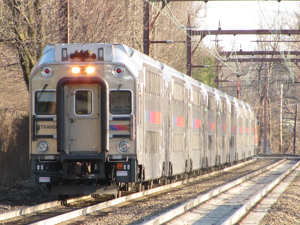 photo of NJT train