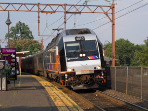 Photo of NJT locomotive