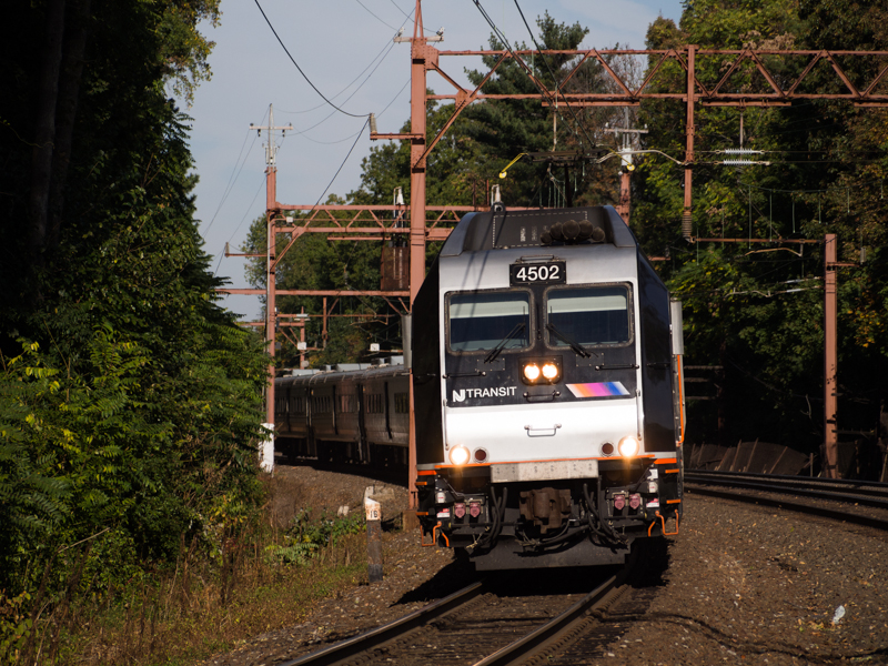 Photo of NJT Dual-Mode Engine